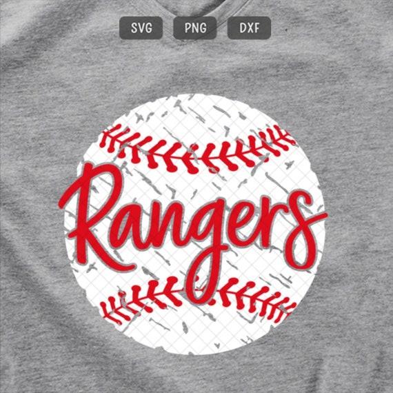 dxf SALE! pdf baseball shirt softball svg svg file eps png Rangers baseball svg files for Cricut baseball mom svg Silhouette