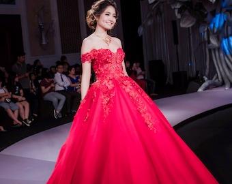 Red Wedding Dresses for Women
