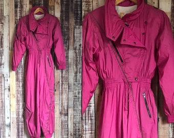 80 s Retro Skea Pink Snowsuit 5b74ec74c