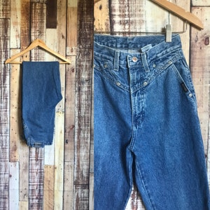 773337d7 Vintage High Waist Rockies Western Jeans, Vintage Blue Denim Rockies  Jeanswear Size 25 x 32