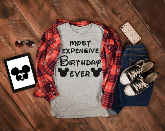 ADULT Disney Birthday Best Ever Gift