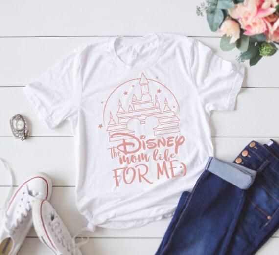 dfd90e1cfe3fd Disney mom life for me women s shirt   tank plus size