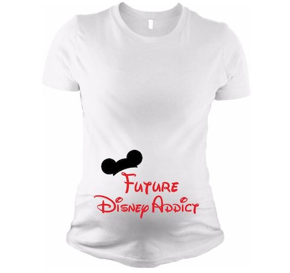 a95eb73df50 Future Disney Addict Disney pregnancy t shirt tank disney