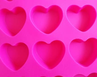 "1 1/2""- 1 1/2"" heart shaped molds set"