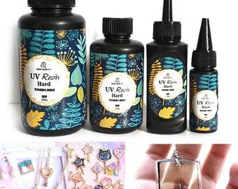 UV Curing Resin 10g-200g Bottle