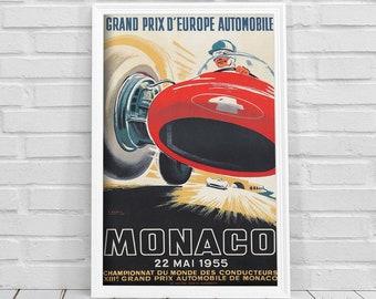 Chicago Illinois Car Show Vintage Deco Fashion 1932 Auto Poster Repro FREE S//H