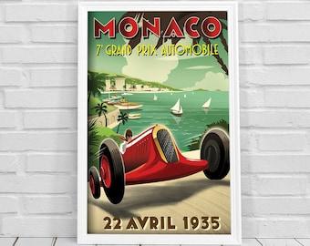 Moto Race Poster Etsy