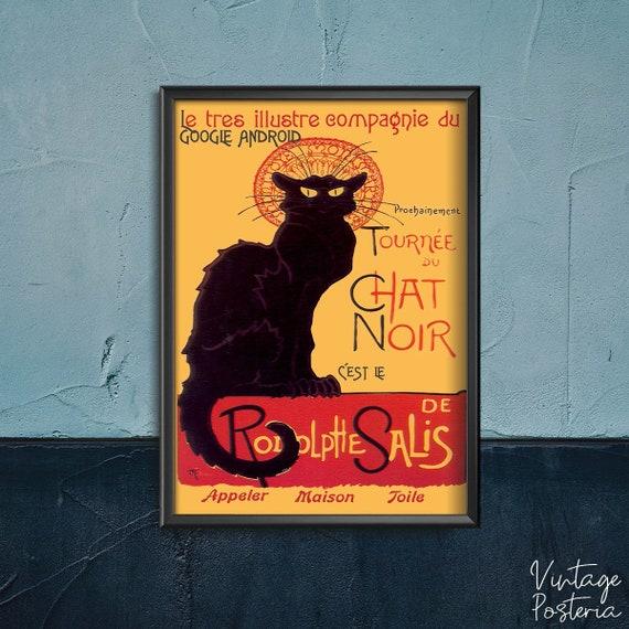 A1 A3 A2 A4 sizes Tournee du Chat Noir Vintage Art Poster