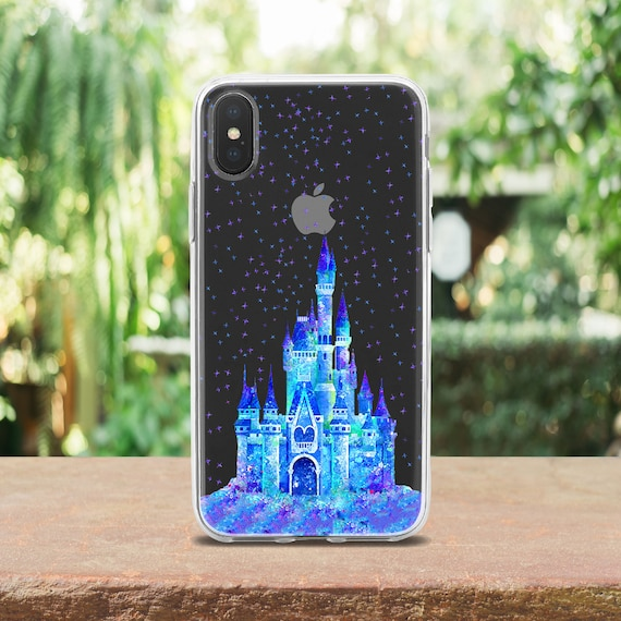 Disney Castle Case Iphone Xs Max Case Inspired By Disney Note Etsy