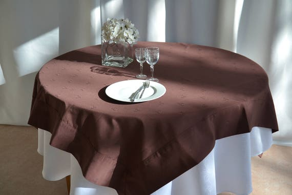 Nappe Carrée En Coton Polyester 160x160