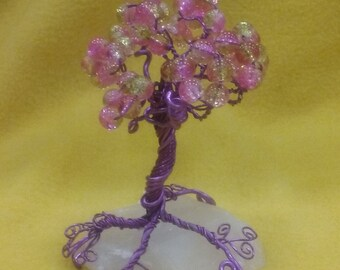 Happiness and Joy Quartz Tree