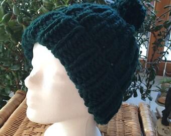 Knit poodle hat  f3b781bc55a0
