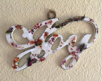 Floral Wall Hanging