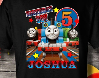 Thomas And Friends Birthday Shirt Train T