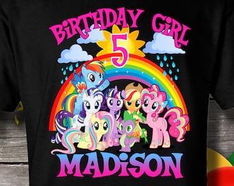 879dab61 My Little Pony Birthday Shirt, My Little Pony Shirt, My Little Pony T-shirt,  My Little Pony, My Little Pony family shirts
