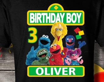 73419b3c SESAME STREET Birthday Shirt, Sesame Street Shirt, Sesame Street T-shirt, Sesame  Street, Sesame Street family shirts