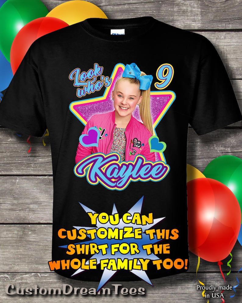 JoJo Siwa Birthday Shirt T