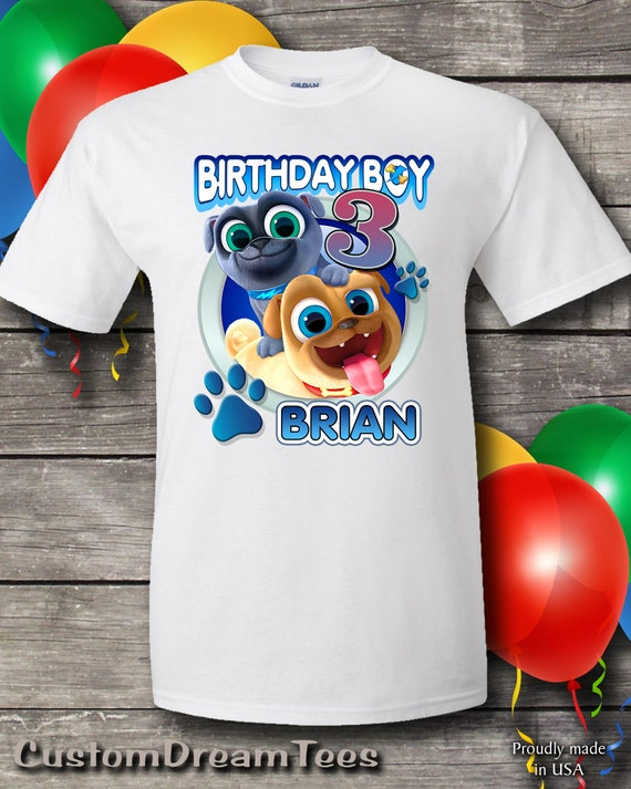 Puppy Dog Pals Birthday Shirt Puppy Dog Pals Birthday Shirt Etsy
