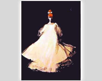 9f955c461 Fashion Illustration René Gruau for Diorling 1963 Digitally Edited.