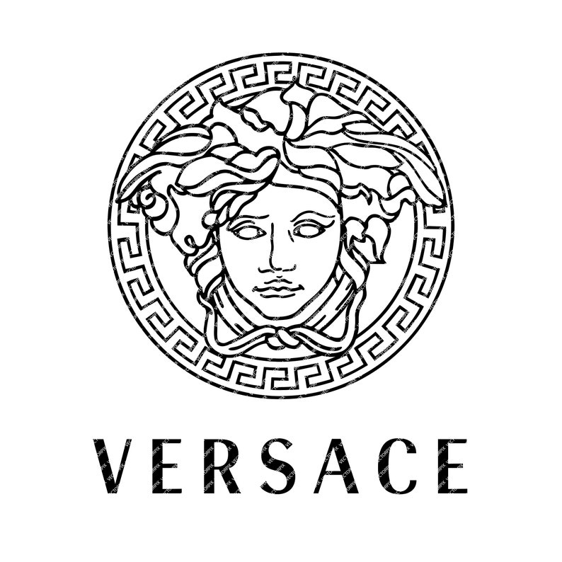 57fbf40354 Logotipo de Versace Descarga digital instantánea Versace | Etsy