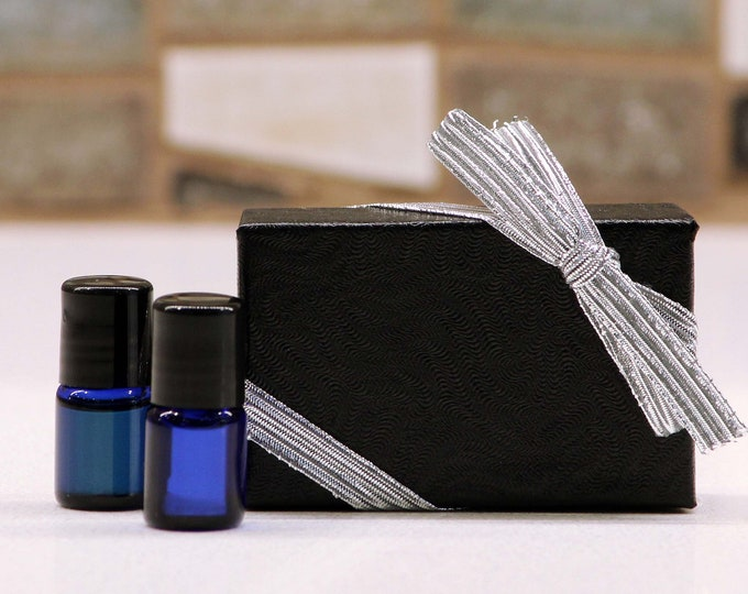 Premium Mini 2 mL Roller Bottle Sample Gift Set / Essential Oils / Aromatherapy