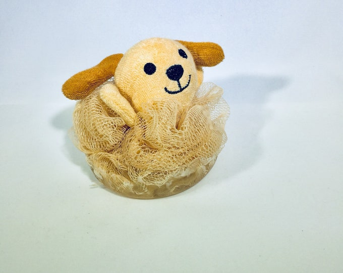 Puppy Loofah & Soap Combo for Kids / Gift / Natural Soap