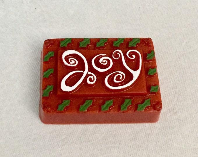 Joy - Christmas Soap / Fresh Peppermint
