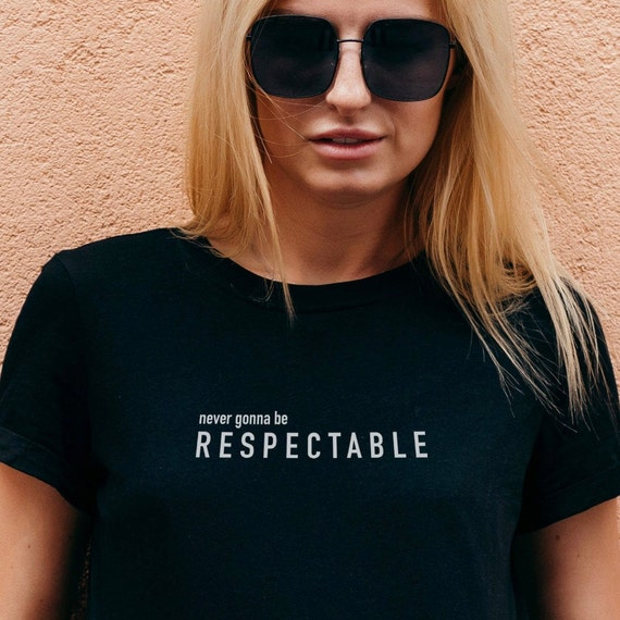 Respectable organic cotton t-shirt