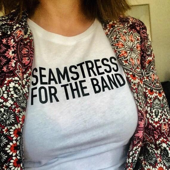 Seamstress organic cotton t-shirt