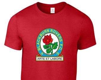 Tailles S - 5XL Plus Blackburn RoversFootball Club T Shirt Jersey