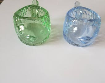 Candle Holder glass animals