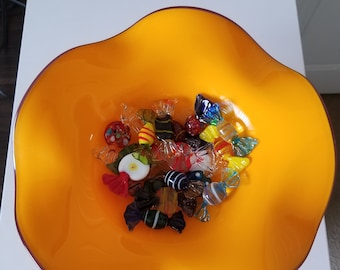 Vintage Glass candy