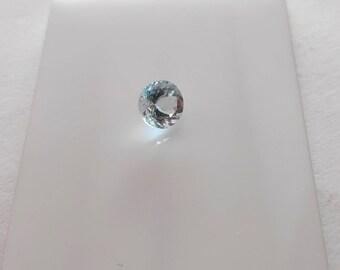 8 mm Round Shape Aquamarine in AA Grade 2ct.