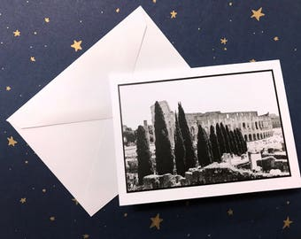"""Notecard/Greeting Card """"The Colosseum"""""""