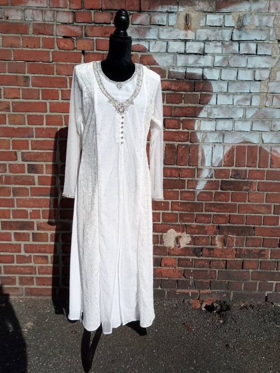 Vintage wedding dress 70s