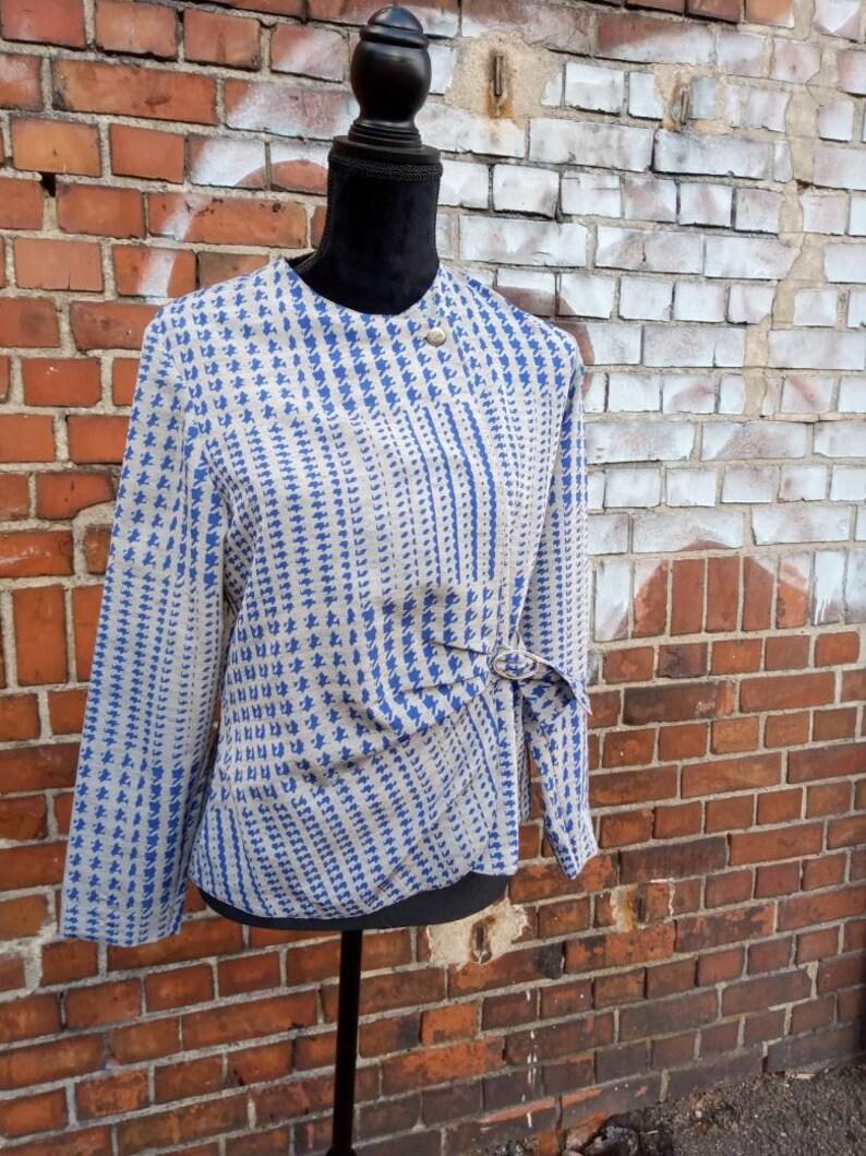 Vintage blouse kick 60s