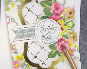 Birthday Wishes - May The Bring You Much Happiness... Fabulous Flip Action Card