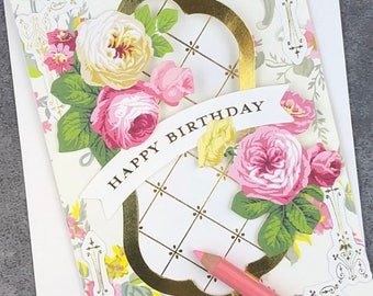 Happy Birthday - May the Day Bring You Much Happiness ... Fabulous Flip Action Card