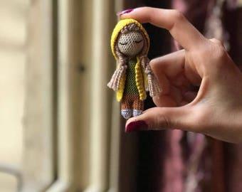 doll , toys , crochet , mini