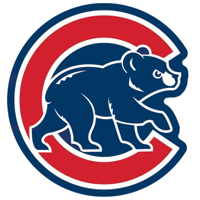 graphic about Printable Chicago Cubs Logo named Chicago Cubs, Chicago Cubs Printable Pics, Baseball Emblems, Cubs undertake brand, Stickers for gles cubs go through