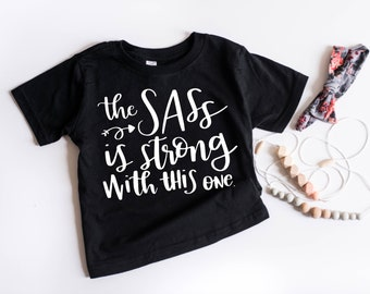 58b56688 The Sass Is Real//Sasshole//Boys Are Ew//Girl Shirt//It's A Girl//Girl  Mom//Girl Onesie//Baby Outfit//Baby Shirt//Gifts For Her//Baby Shower