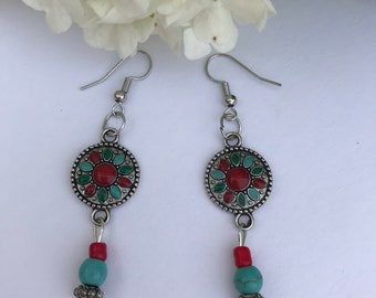 Southwestern/Boho Earrings/Boho/Native American jewelry/