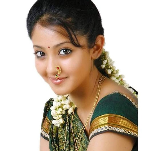 Maharashtrian Nath Clip On Nose Ring Without Piercing For Etsy