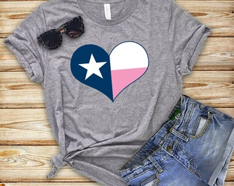 Texas Shirt - Austin Texas - Texas Love Shirt - Graphic Tee