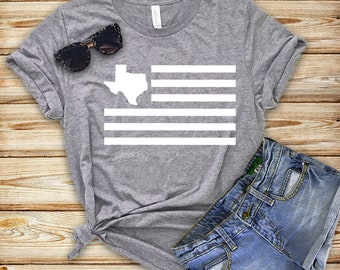 Texas Shirt - Graphic Tee - Texas Flag