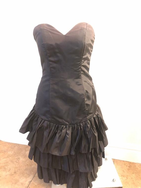80s Little Black Dress