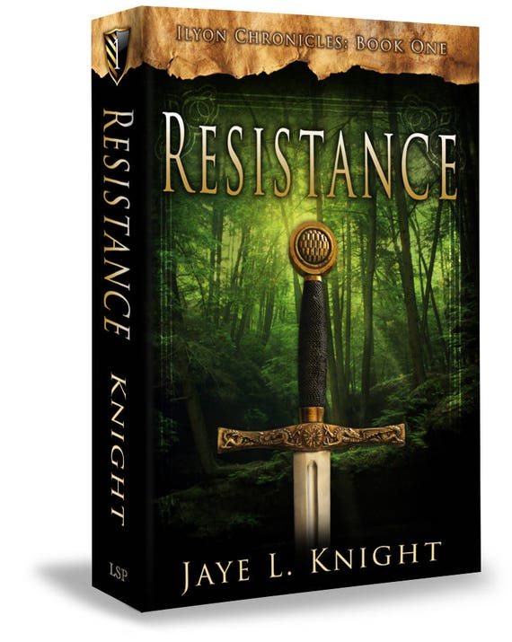Resistance Signed Copy Ilyon Chronicles Book 1 Paperback