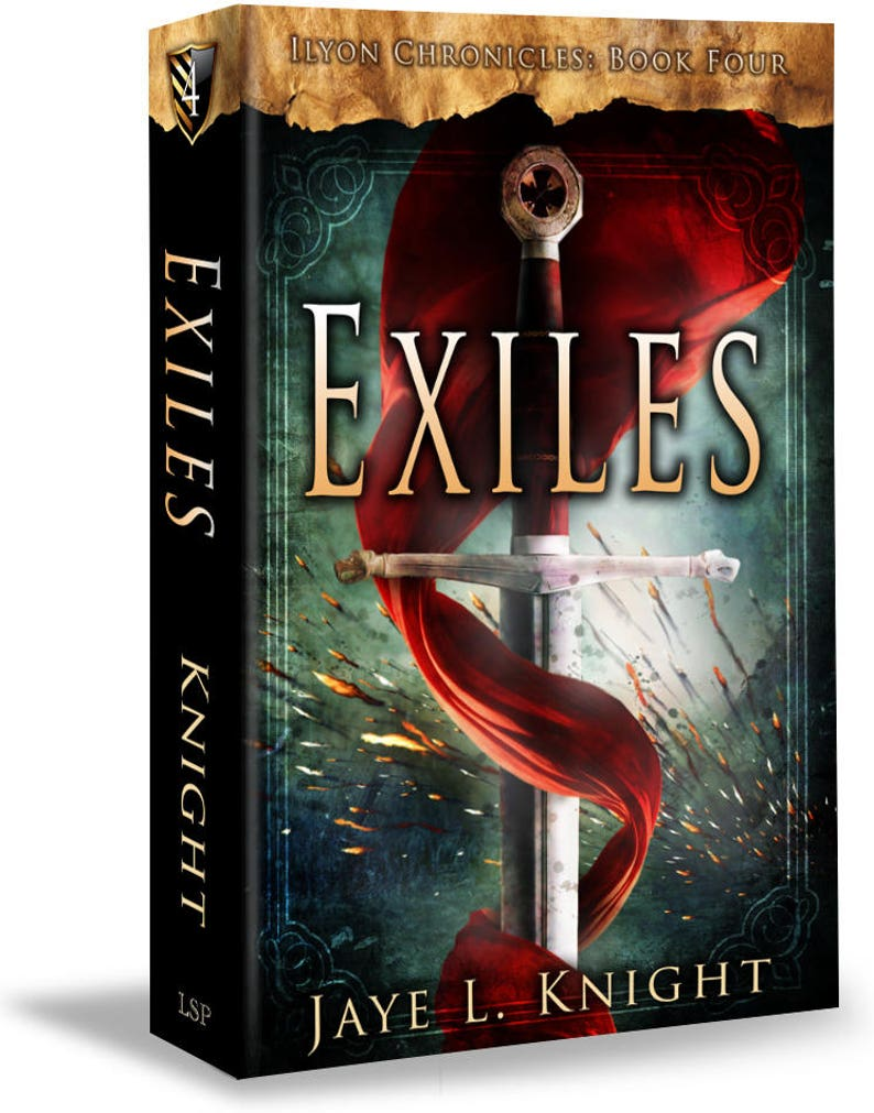 Exiles Signed Copy  Ilyon Chronicles  Book 4  Paperback  image 0