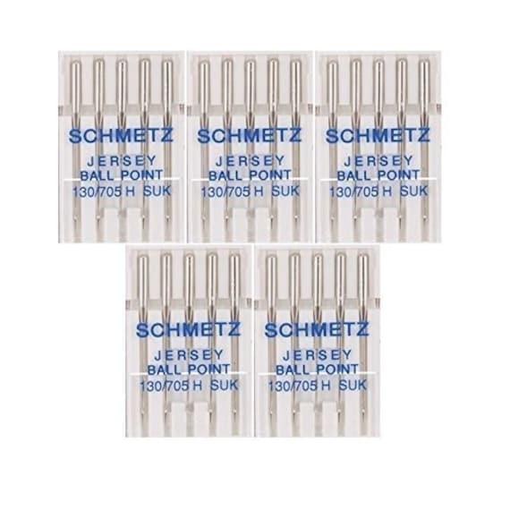 SEWING MACHINE DOMESTIC NEEDLES 130-705 SIZE 100//16 BALL POINT