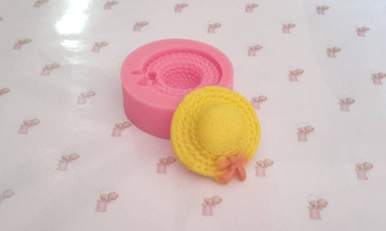 Mold silicone straw hat Click the small shop